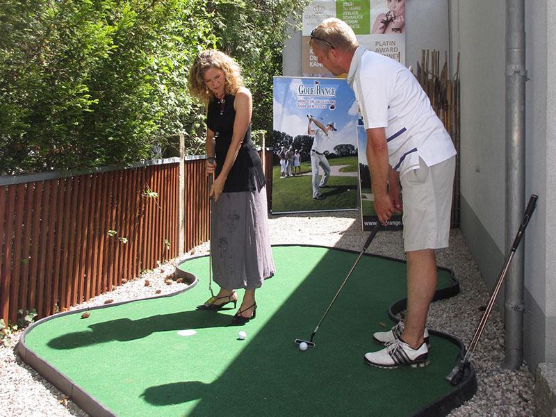 Golf in der Meister-Goldschmiede